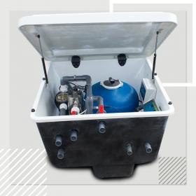 新款一体化雨水地埋式过滤设备